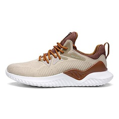 Other Fashion Mens Casual Sport Shoes Running Sneakers (41EU=8US-Men, Light Yellow)