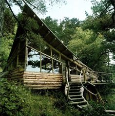 All sizes | Untitled | Flickr - Photo Sharing! #cabin #wood #log #architecture