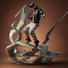 MOTION IN AIR on the Behance Network #sculpture