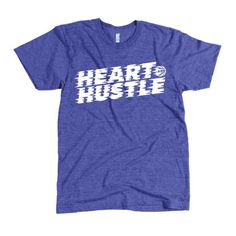 Heart And Hustle Shirt #print #shirt #screen #tee #basketball