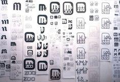 Lance Wyman Zoo pictograms #process #pictograms #zoo #lance wyman