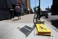 New Street Artist 'Bored' Turns Chicago Sidewalks into an Alternative Monopoly Game | Colossal #monopoly #chicago #art #street