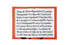 Zarzuela Poster : Carles Rodrigo #type #zarzuela #specimen