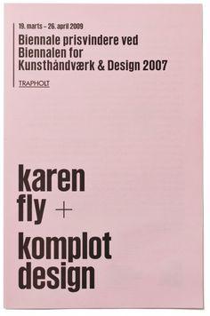 Rasmus Koch Studio : Ting bliver til / Biennale #print