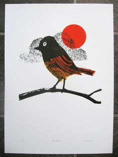 About Petting Zoo Prints & Collectables #print #art #screenprint #bird