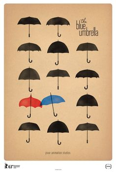 Pinned Image #blue #movie #umbrella #poster