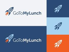 GoToMyLunch Logo - Kevin Burr #logo #lunch #spacecraft