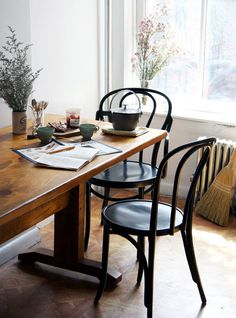 design sponge bentwood chairs #interior #chair #design #decor #deco #decoration
