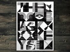 The Best Part | The Black Keys - Edmonton #black #poster #keys