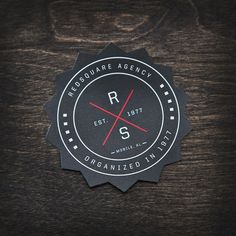 redsquareagency_09.jpg 510×510 pixels #print #shape #brand #coaster #diecut #printed #collateral #redsquare