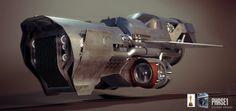 gallery (cgi) | exorbit art #scifi #spacetractor #ship #concept