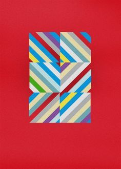 Dennis Andrianopoulos #stripes #print #geometric #poster