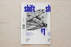 Shift on Behance #cover #magazine