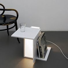 Light Crate by Clemens Tissi | Design Milk #interior #lamp #decor #white