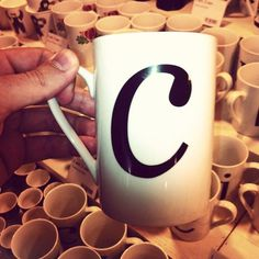 C in cup #font #c #typography
