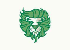 Mikey Burton / Designy Illustration #mikey #lion #identity #logo #burton