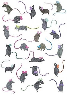 Malin Rosenqvist #illustration #mouse #malin rosenqvist