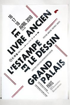 Salon du livre ancien de Paris : Salon 2010 #affiche #rare #grand #book #livre #poster #type #palais #widmer #ancien #jean