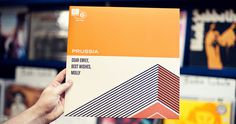 Like the flat orange horizontal and light color #cover #shapes #art