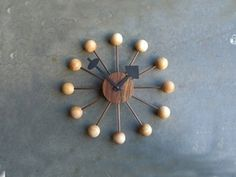 Patent Pending Projects: Starburst Clock Project #starburst #george #nelson #diy #clock