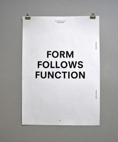 drapht #form #function #saying #poster