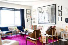 3v #pink #living #vintage #room