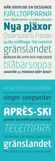 Nordic Narrow | Fountain #font #nordic #fountain