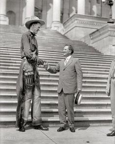 The Upper Hand: 1919 | Shorpy Historic Photo Archive #giant #cowboy