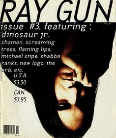 Raygun Magazine - Well Threaded #rock #dinosaur #carson #raygun #jr #alternative #david #magazine