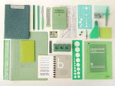 Jared Erickson | Because I Can #supplies #office #design #color #palettes #green