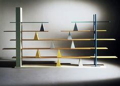 Branzi / shelves #design #de #glass #1981 #anti #shelves