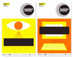 Monnet Design: SummerWorks 2012 #illustration #design #graphic