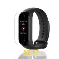 Protective #Screen #Film #for #Xiaomi #Mi #Band #4 #Smart #Bracelet #5pcs #- #TRANSPARENT