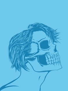 Skull Girls (pt.1) on Behance #skull #girls