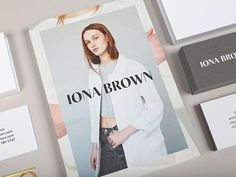 Lookbook for contemporary jewellery designer Iona Brown designed by Sam Flaherty #ff