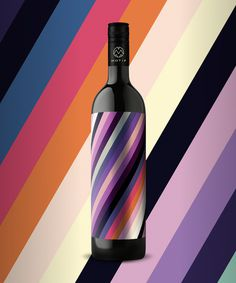 10_17_13_MotifWine_8.jpg #bottle #packaging #design #color #wine #geometric