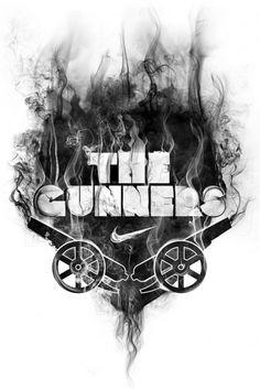 8220f19fbaaa1fe09d4ccfc810b1f854.jpg (600×900) #gunners #nike #illustration #arsenal