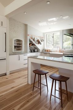breakfast bar | photo matthew delphenich #interior #kitchen #design