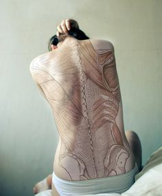 Diana Eastman #anatomy #diana #tattoo #eastman #drawing