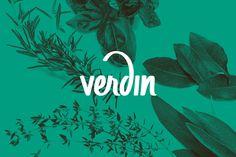 Verdin - Identity on Behance #lettering #script #plants #branding #letter #logo #green