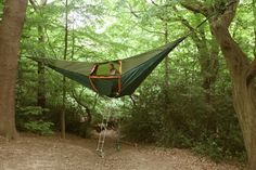 The Hammock Tent - Imgur #tent #camping