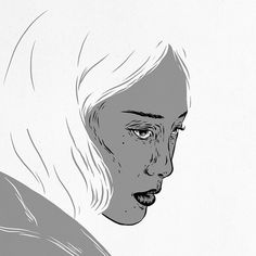 FACES on Behance #comic #illustration #girl