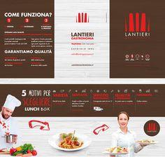 Trifold Design #food #eat #beverage #fork #kitchen #chef #trifold #graphicdesign #graphic #brochure #leaflet