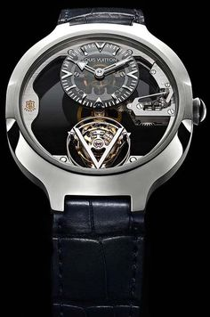 Louis Vuitton Flying Tourbillon Poinçon de Genève Watch #LouisVuitton #FlyingTourbillon #PoincondeGeneve #GenevaSeal #instawatch #baselwo