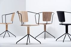 ronan + erwan bouroullec subtly carve uncino chair for mattiazzi #chair