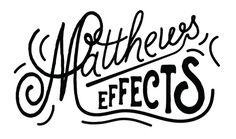 H O L Y C I T Y D E S I G N | MATTHEWS EFFECTS #lettering #design #logo #hand #typography