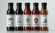 FWhitlockandSons #packaging #pepper #sauce #label