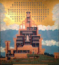 Renaissance mixed with video games in Genesis 2014 by Dan Hernandez