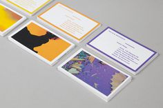 Felicia Aurora Eriksson | FormFiftyFive – Design inspiration from around the world #business card #stationery