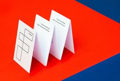 Fraher architects by Freytag Anderson #red #blue #brand design #stationary #graphic design #business card